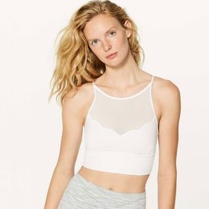 Lululemon adore your core bra white size 6